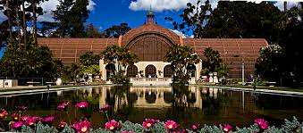 Botanical Garden by Botanical Building And Lily Pond Balboa Park