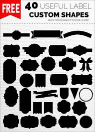label templates for adobe photoshop label templates 40 photoshop custom shapes