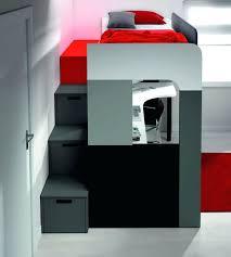lits mezzanine avec bureau escalier lit superpose lit mezzanine avec bureau lit superpose