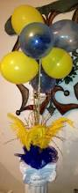 balloon centerpiece for southern university graduation party fun