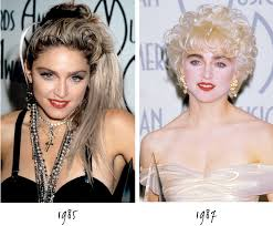 hairstyles through the years madonna s hairstyles over the years netrobe