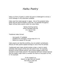 resume word doc formats of poems haiku poem exles gallery any exle ideas