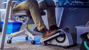 Exercise At Your Desk Equipment This Under The Desk Elliptical Probably Won U0027t Turn You Into The