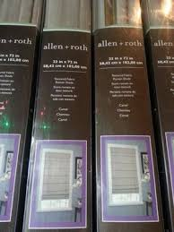 Allen And Roth Curtains Adorable Allen And Roth Roman Shades Decor With Colorful Curtains