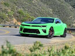 green camaro ss report 2017 chevrolet camaro ss 1le ny daily