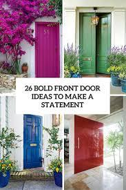 front door ideas 26 bold front door ideas in bright colors shelterness
