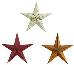 Metal Star Home Decor Amazon Com Deco 79 75631 Metal Stars S 3 12h Home U0026 Kitchen