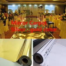 Marriage Decoration Aliexpress Com Buy 20meters Lot Mirror Wedding Carpet T Stage