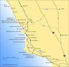california map king city pismo directions california s best beaches