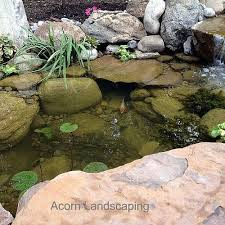 Pictures Of Backyard Waterfalls by Amazing Backyard Waterfall Fish Pond With Paver Patio