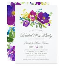 wedding shower invitations bridal shower tea party invitations announcements zazzle
