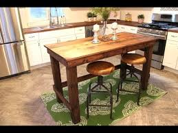 build kitchen island plans the 20 kitchen island easy diy project youtube