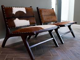 interesting cowhide chairs another world u2014 castro home and