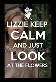 Look At The Flowers Meme - look at the flowers poor lizzie she was so messed up but hey