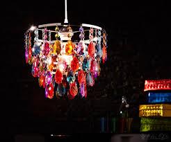 Wohnzimmer Lampe Ebay Deckenleuchte Cesaro Bunt Deckenlampe Mit Acryl Kristallen