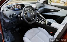 peugeot 3008 2015 interior peugeot 3008 u2013 2nd gen to debut in malaysia q2 2017 image 582851