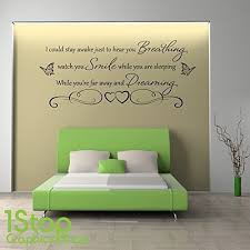 bedroom wall quotes bedroom wall quotes amazon co uk