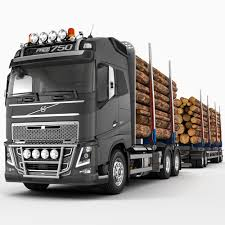 volvo semi models fh timber trailer truck