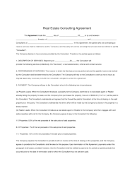 consulting agreement form 6 free templates in pdf word excel
