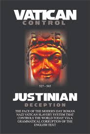 justinian deception hidden foreign text known as dog latin the