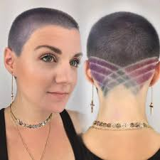 female short hair undercut women u0027s combover undercut pixie with shaved sides and pink color