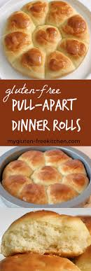 gluten free pull apart dinner rolls