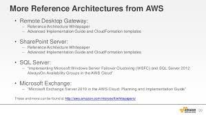 aws webcast active directory on aws