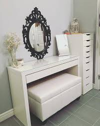 Antique Vanity Table With Mirror And Bench Vintage Vanity Table With Mirror And Bench White Dressing Table