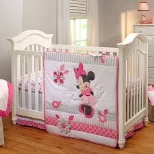 Baby Mickey Crib Bedding by Minnie Mouse Crib Bedding Set For Baby Personalizable Bedding
