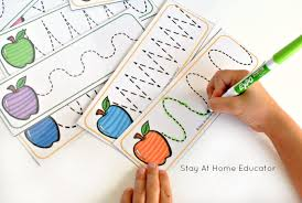 6 low prep apple activities for preschoolers printables