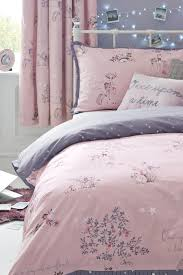 buy fairy tale cotton rich print bed set from the next uk online