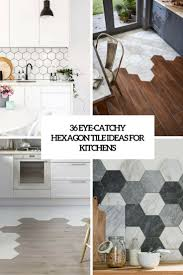 design for kitchen tiles 36 eye catchy hexagon tile ideas for kitchens digsdigs