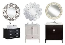 Bathroom Table Vanity by Bathroom Vanity Mirror Bathroom Mirror Lighted Mirror U0027s Edge