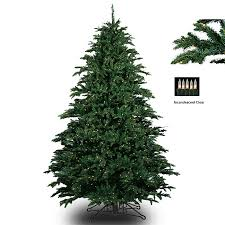 barcana 8120707501p 7 5 alaskan fir deluxe with clear lights