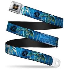 yu gi oh blue eyes white dragon belt u2013 gaming outfitters
