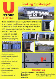 Secure Storage Container Home U0026 Business Storage Portable Cabin Sales And Hire U Store