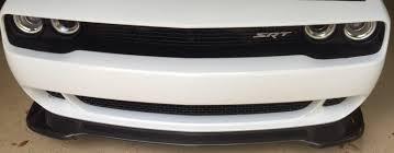 Dodge Challenger Front Bumper - for sale dodge challenger hellcat carbon fiber front chin