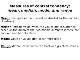 measures of central tendency worksheets super teacher worksheets
