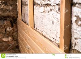 Covering Wood Paneling by Wooden Panel Repair Stock Photo Image 84695188