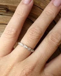 scalloped marquise diamond eternity band kate szabone jewellery