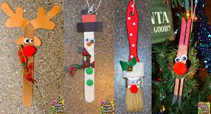 simple kids christmas crafts and ornaments