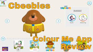 cbeebies colour app review