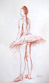 degas ballerina photo and artwork the drawing club