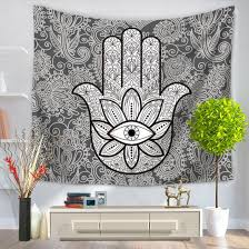 online get cheap cool tapestries aliexpress com alibaba group cool home decor wall hanging abstract palms tapestry colorful fabric door curtain bedspread home decoration accessories
