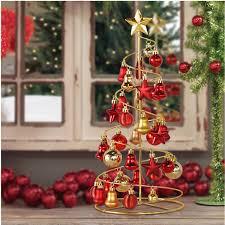 2015 new year mini iron spiral trees ornaments