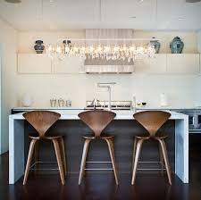 Modern Wood Bar Stool Chic Bar Stools Creepingthyme Info