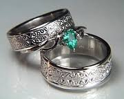 celtic wedding ring sets celtic mohan knot wedding rings by designet best prices quality