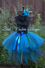 Peacock Halloween Costume Girls Teen Masquerade Peacock Bustle Style Sweethearttutus