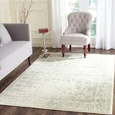 8 X 6 Area Rug Adirondack Ivory Ivory Green 8 Ft X 10 Ft Area Rug Products