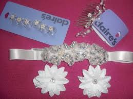 claires hair accessories braids and beyond s icing flower girl hair
